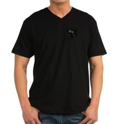 youmu-mens-vneck-tshirt-front
