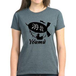 youmu-womens-dark-tshirt-front