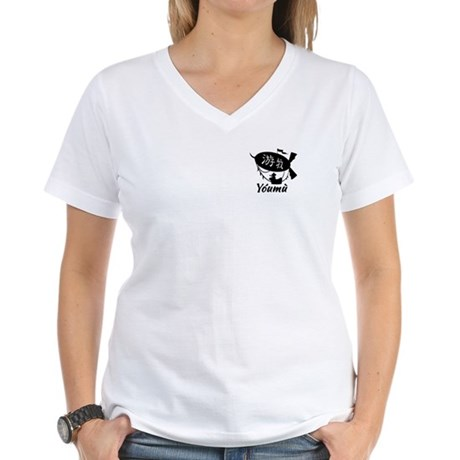 youmu-womens-vneck-tshirt=front