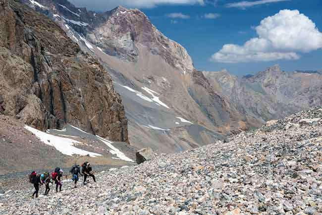 backpacking guide jobs