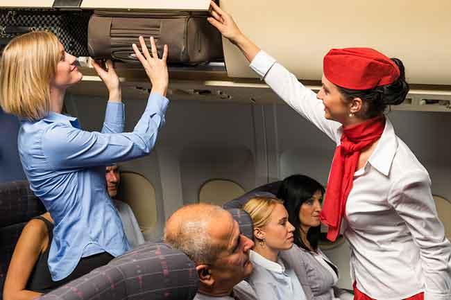 international flight attendant