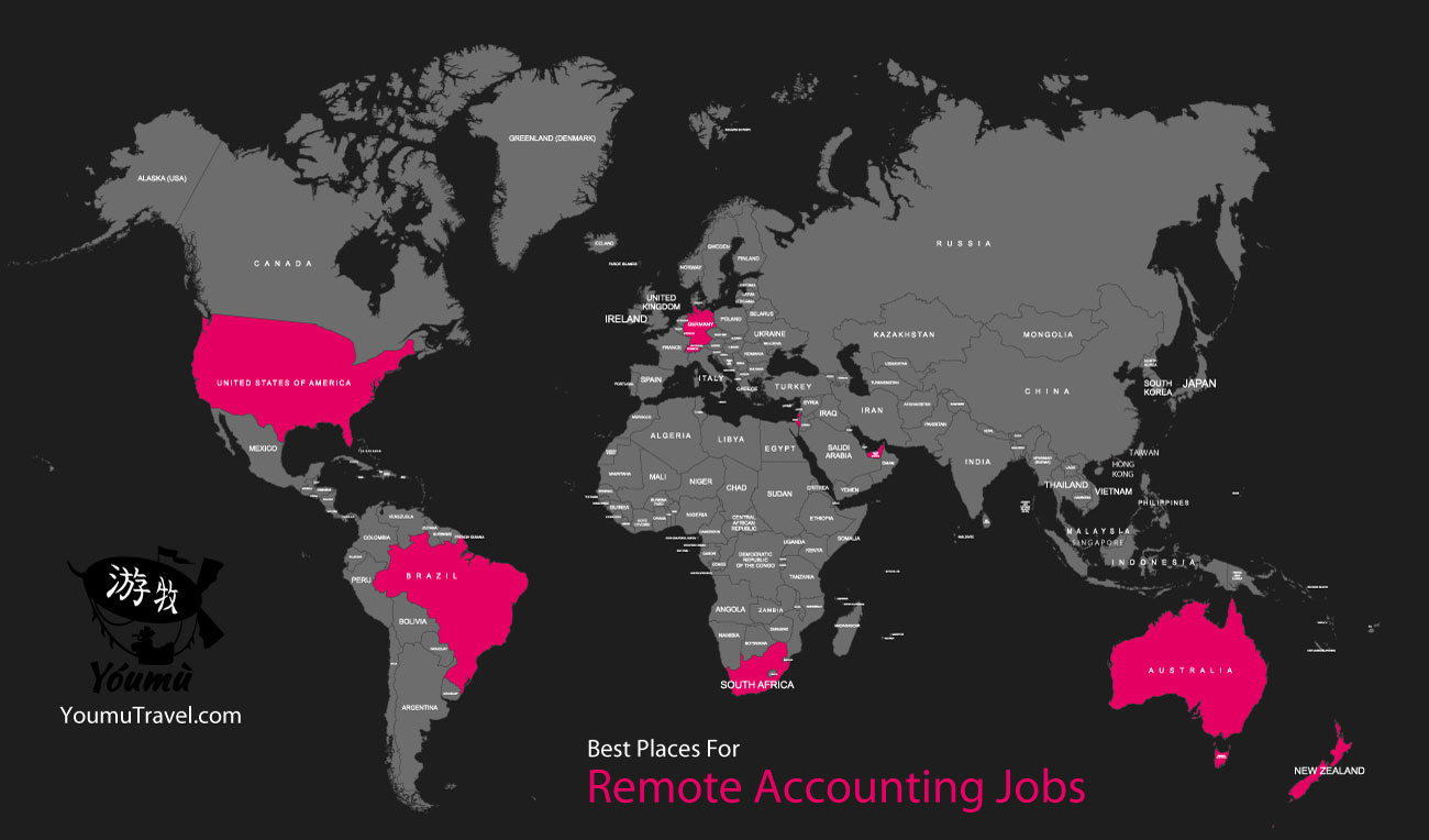 Remote Accounting Jobs - Best Places Job Map