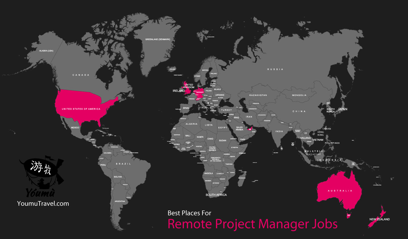 Remote Project Manager Jobs - Best Places Job Map