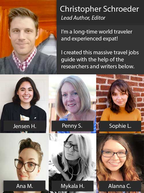 Travel Jobs Team